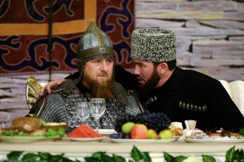 Кадыров пришел на торжествен…