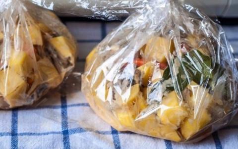 Запеченная картошка с грибам…