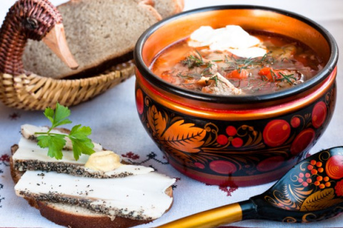 Рецепты русской кухни от Александра Дюма