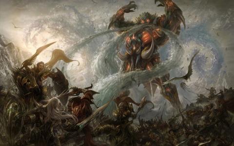 Новая битва с водяным гигантом
