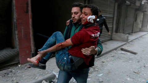 Разве был удар? Как ООН, Евросоюз и СМИ не заметили массового убийства