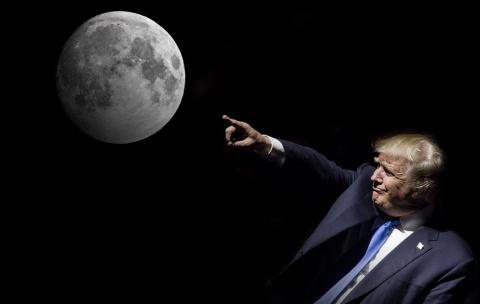 Возвращение на Луну стало первоочередной целью NASA