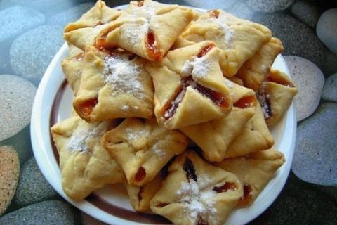 Печенье с джемом за 15 минут