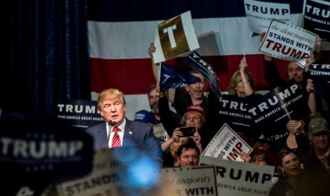 Трамп и революционные настро…