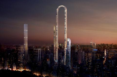 В Нью-Йорке построят самый длинный небоскреб в мире