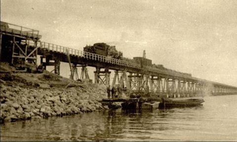 А ведь мост через Керченский пролив уже был!