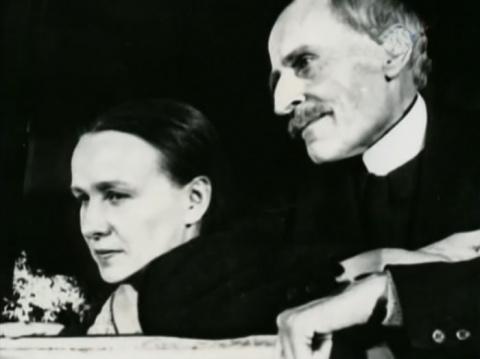 Ромен Роллан и Мария Кувилье…
