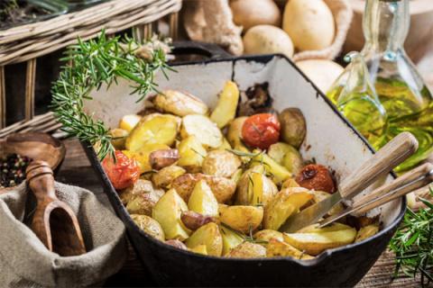 Лучший картофель в духовке, …