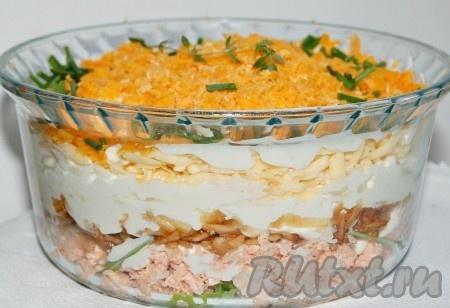 Рецепт салата министерского