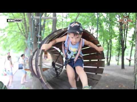 Командование ДНР организовало развлекательную программу для детей погибших военнослужащих