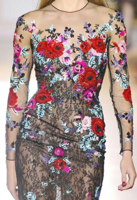 Вышивки высокой моды как средство от депрессии: 30 потрясающих работ