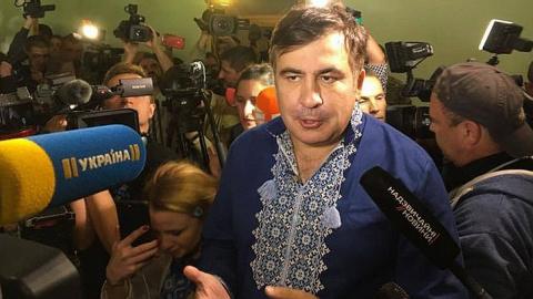 Саакашвили сдулся? Почему ак…