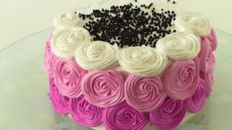 Очень вкусный бисквитный торт