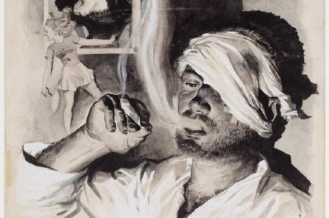Рисунки бывших заключенных в японских лагерях голландской Ост-Индии