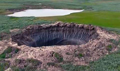 7 тысяч подземных газовых пузырей сформировались в Сибири