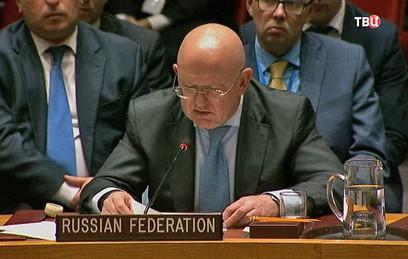 Россия призвала коалицию США…