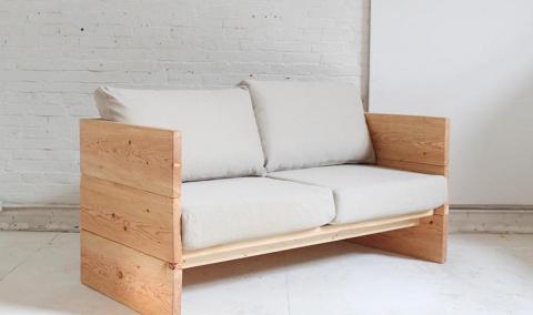 Варианты самодельных диванов