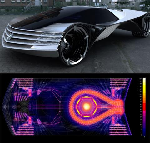 Автомобиль на ядерном топливе