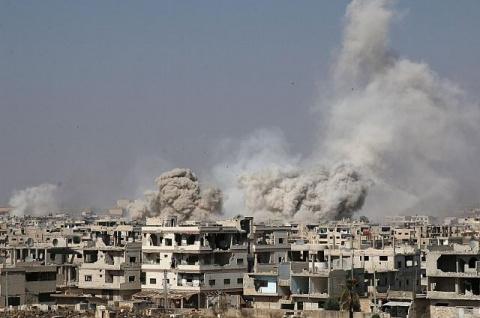США снова поддержали террористов,коалиция нанесла удар по войскам Сирии