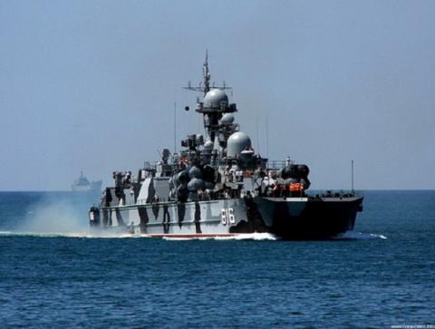 """Вот из-за этого российского корабля, в сопровождении """"Адмирала Кузнецова"""", у англичан и французов на Ла-Манше """"отвисла челюсть"""""""
