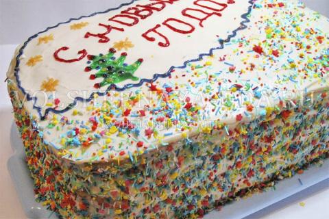Торт «С Новым годом!»