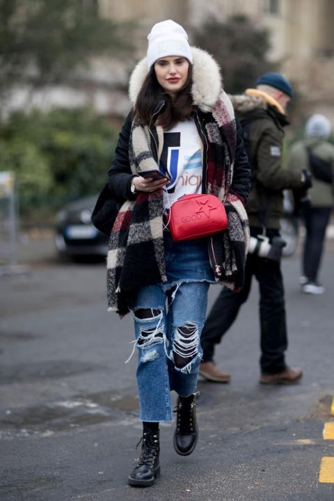 Одеться зимой тепло и выгляд…