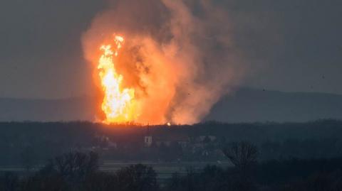 Взрыв в Австрии прервал поставки газа в три страны ЕС