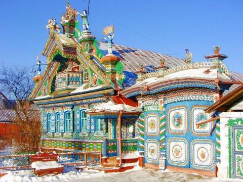 Сказочный дом кузнеца Сергея…