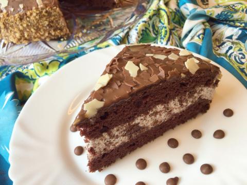 Шоколадный торт из детства
