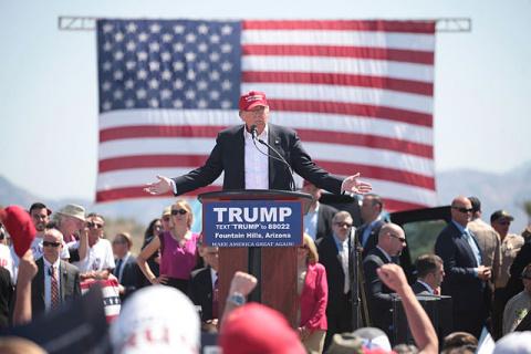 Donald Trump as Sonny Corleone