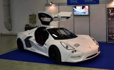 «Брутал» — новый автомобиль, который можно купить без двигателя