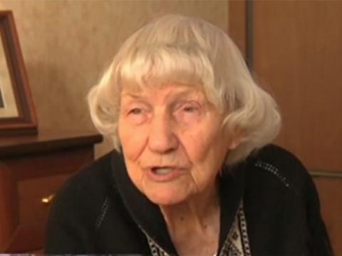 100-летняя сотрудница СМЕРШа…