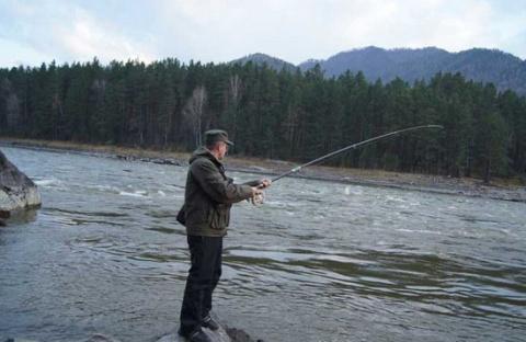 96. Рыбалка на Алтае