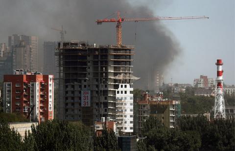 Пожар в центре Ростова-на-До…
