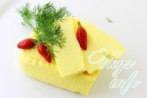 Домашний сыр из сметаны и молока