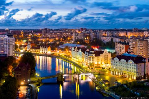 Калининград с высоты: самый …