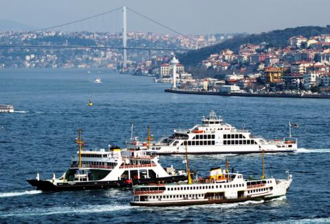 Турция прекратила паромное с…