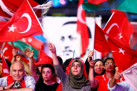 Эрдоган, Аллах и Россия