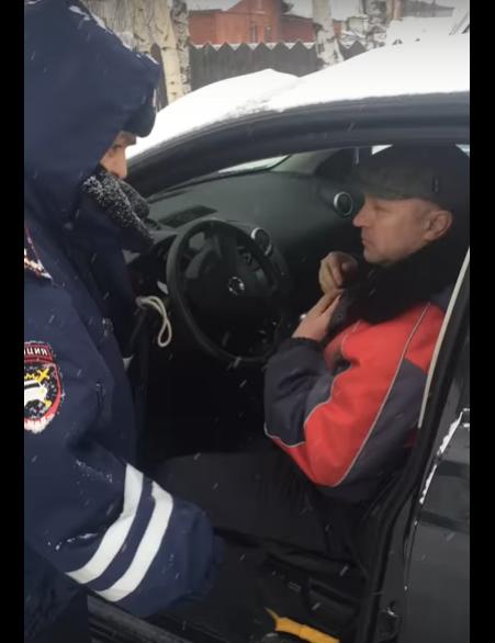 Жесткое задержание водителя или что-то с этим видео не так
