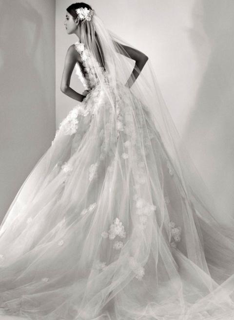Самые красивые свадебные платья 2017 от Elie Saab