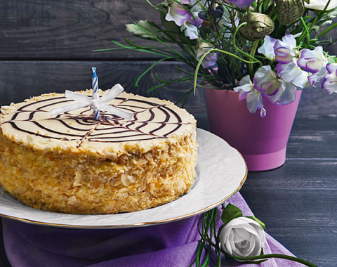 Всемирно известные торты: Эстерхази