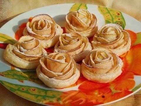 Пирожные «Розы»