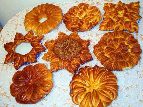 Оформление пирогов и булок. …