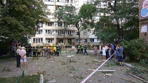 Киев: Взрыв вжилом доме— п…