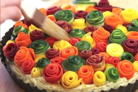 Красивейший овощной пирог! Самый популряный и вкусный торт «Муравейник»