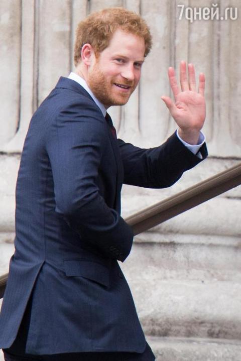 Принц Гарри намерен объявить…