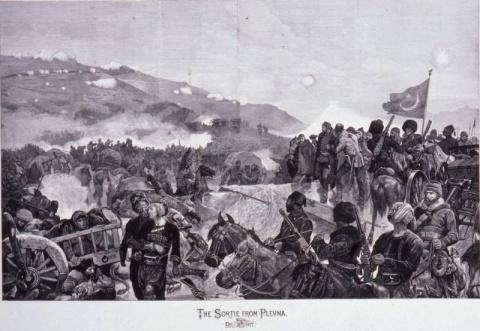 Разгром турецкой армии Осман…