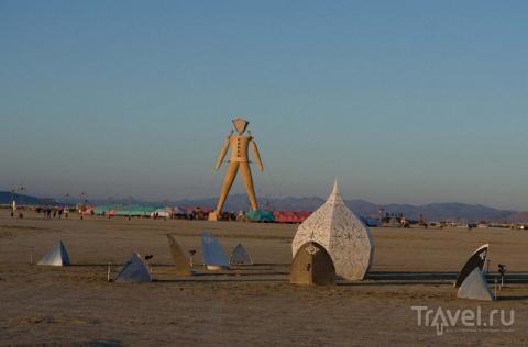 Блэк Рок Сити — временный город Burning Man