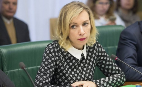 Захарова похвалила Порошенко…