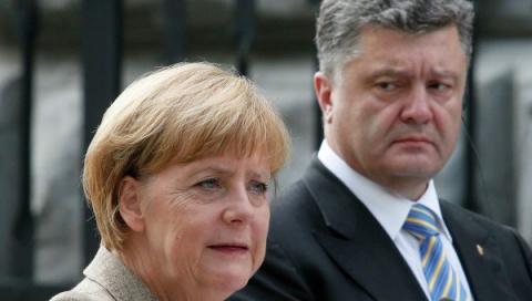 Порошенко вновь у Меркель: разговор обещает быть непростым